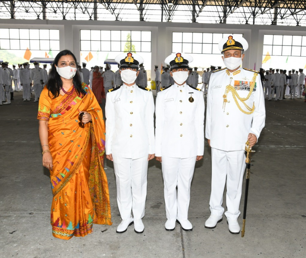 Passing Out Parade - Spring Term 2021 Held at Indian Naval Academy on 29 May 21