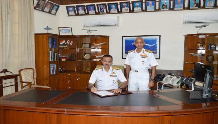 Vice Admiral Ravneet Singh AVSM, NM Assumed Charge as Deputy Chief of Naval Staff