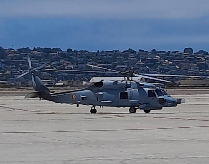 MH-60R Acceptance Ceremony