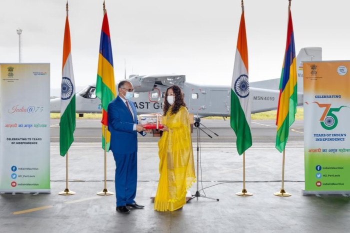 Handing Over ceremony Interim Lease Passenger Variant Dornier (PVD)