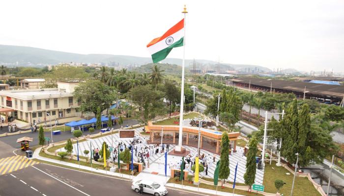 'Prerna Sthal' Dedicated to the Work Force of Naval Dockyard Visakhapatnam