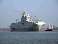 French Naval Ships Arrive Kochi Ahead of Exercise Varuna