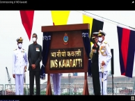 Commissioning of INS Kavaratti