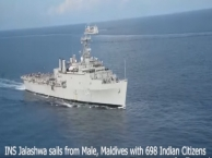 INS Jalashwa at Kochi Harbour