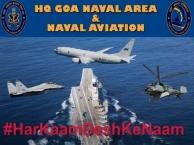 Har Kaam Desh Ke Naam - Headquarters Goa Naval Area & Naval Aviation Efforts To Fight COVID 2019.
