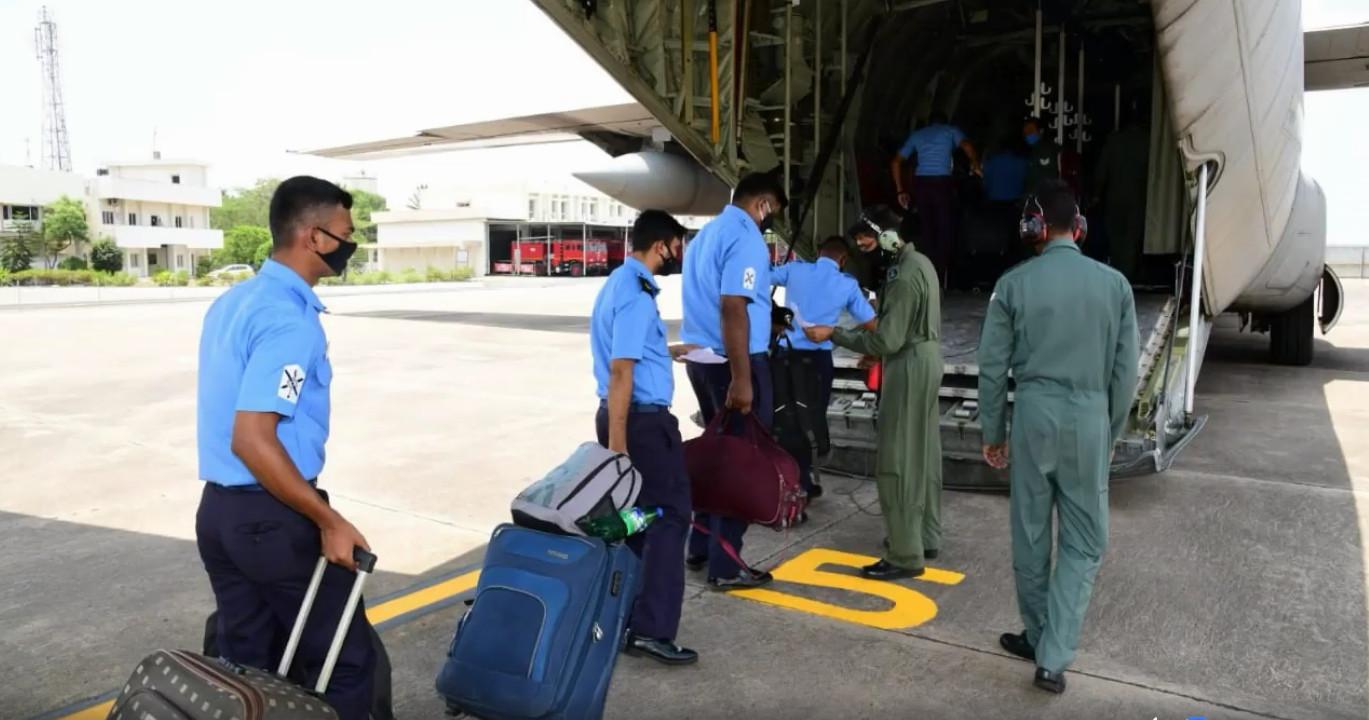 Indian Navy - Medical Team